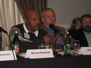 Dr. Michael Blackwell, PCIFAP Vice Chair, attending PCIFAP public meeting in Arkansas, 2/13/07