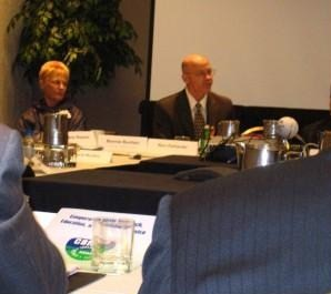 Dr. Ron DeHaven taking part in PCIFAP discussion panel, 9/11/2006