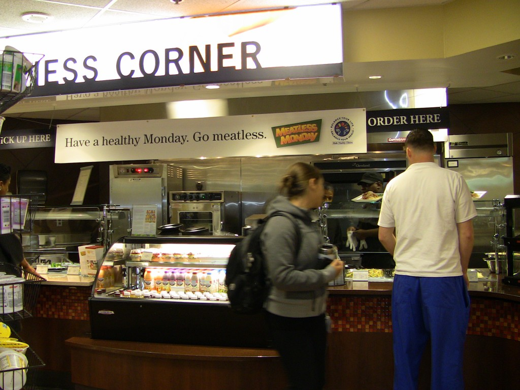 Wellness Corner at The Johns Hopkins Hospital's Cobblestone Cafe