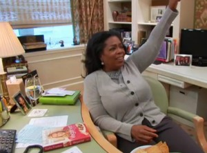 Oprah celebrates Meatless Monday