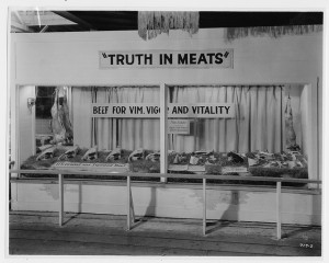 Exhibit by  Oregon Cattle & Horse Raisers Association, circa 1940 / OSU