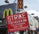 Fast-food workers held strikes in 150 cities this week.