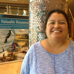 Cheryl Shippentower is a plant ecologist for the Umatilla Department of Natural Resources and a First Food gatherer for the Tribe.